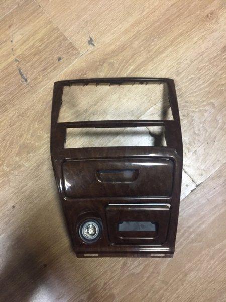 Рамка магнитофона Mitsubishi Galant EA1A 4G93 1997 прикуриватель, пепельница