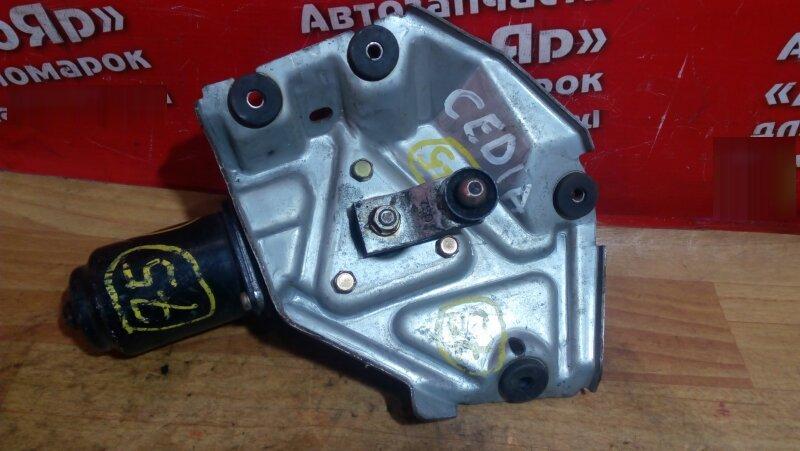 Механизм стеклоочистителя Mitsubishi Lancer Cedia CS5W 4G93 2001 передний мотор остался