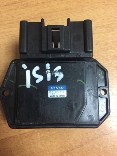 Реостат печки Toyota Isis ANM15G 1AZ-FSE 2005 499300-2121, 4 контакта