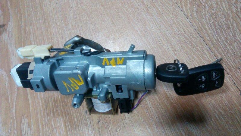 Замок зажигания Mazda Mpv LW3W L3-DE 2004 2 ключа
