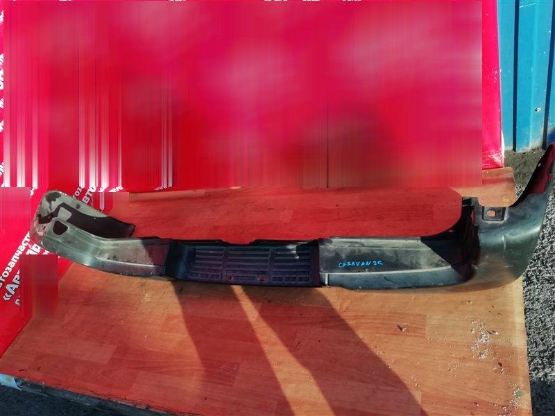 Бампер Nissan Caravan VWME25 ZD30DDTI 2004 задний