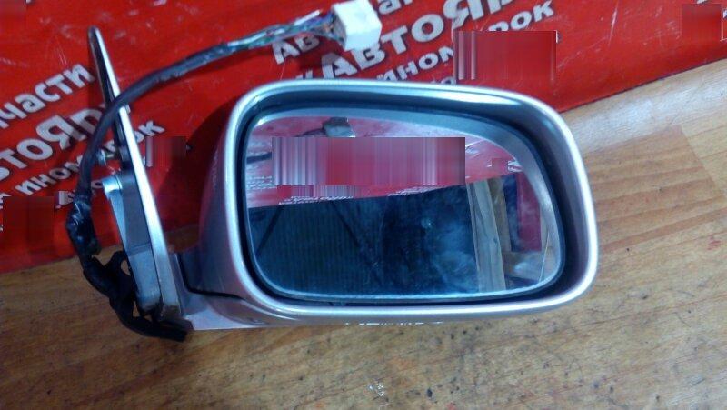 Зеркало Toyota Crown JZS155 2JZ-GE 1998 правое 7конт дефект фишки