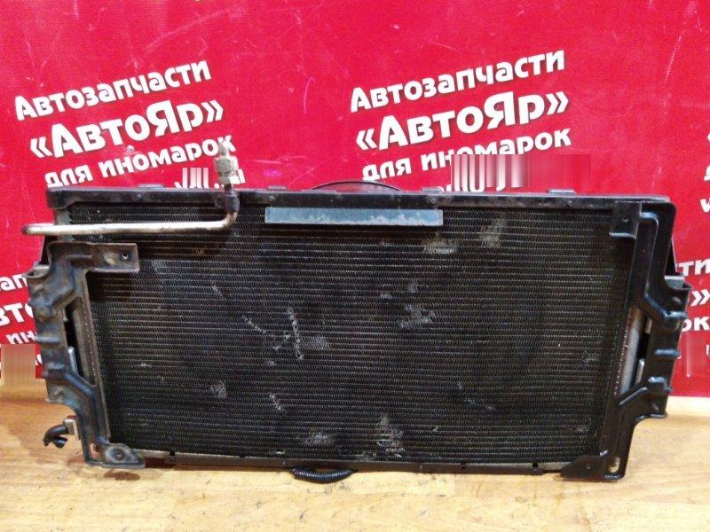 Радиатор кондиционера Nissan Caravan VWME25 ZD30DDTI 2004 с диффузором