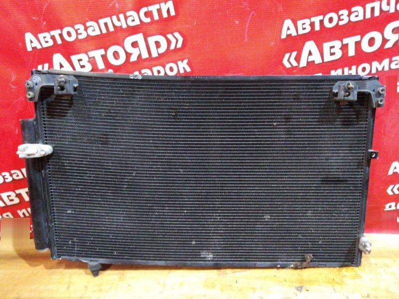 Радиатор кондиционера Toyota Caldina AZT241W 1AZ-FSE 2002 гнутый
