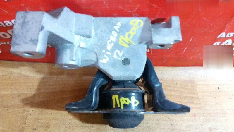 Подушка двигателя Nissan Wingroad Y12 HR15DE 12.2005 правая