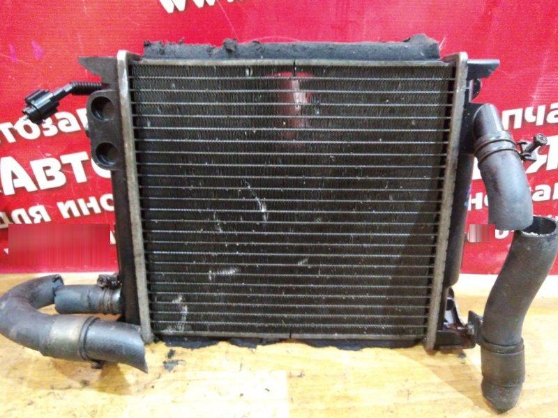 Радиатор основной Nissan Caravan VWME25 ZD30DDTI 2004 малый, дополнительный, с диффузором