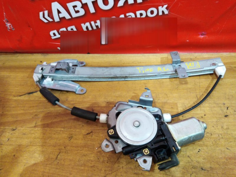 Стеклоподъемник Nissan Tino V10 QG18DE 2001 задний левый