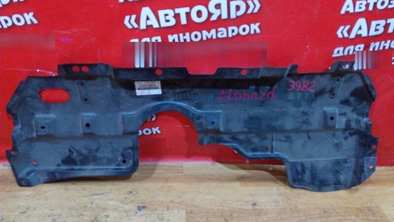 Защита двигателя Toyota Alphard ANH20W 2AZ-FE