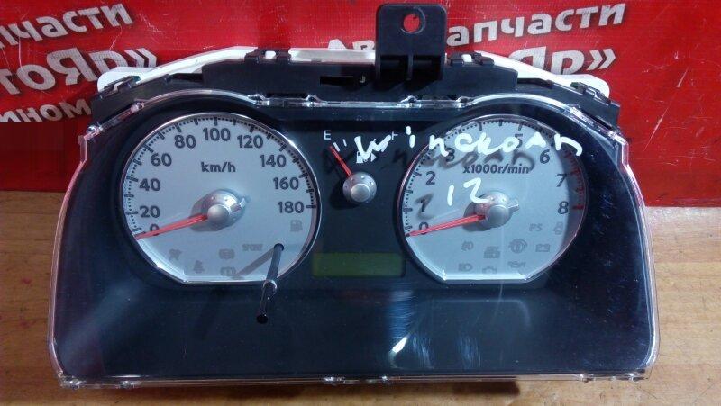 Комбинация приборов Nissan Wingroad Y12 HR15DE CV01A/6T83