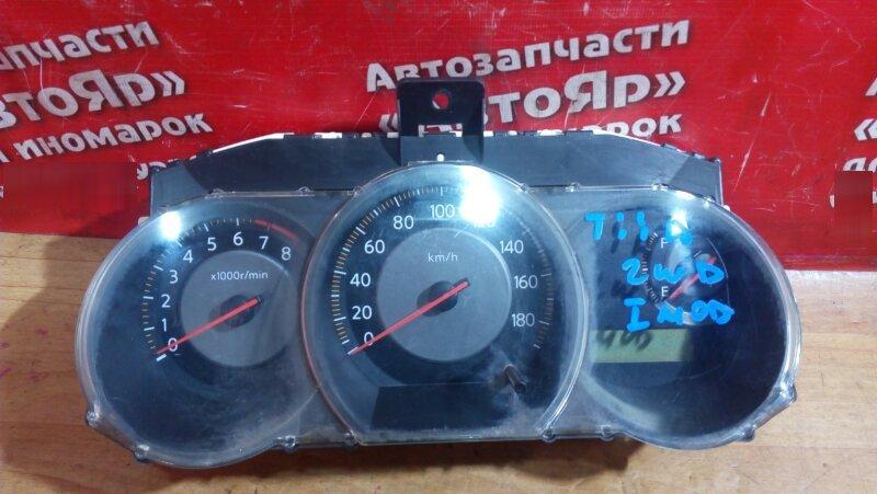 Комбинация приборов Nissan Tiida C11 HR15DE 2005 M/ED011/QM61