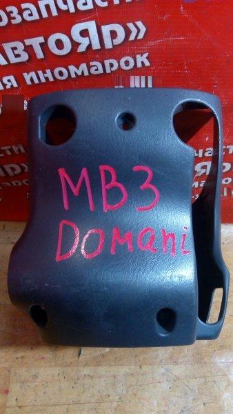 Кожух рулевой колонки Honda Domani MB3 D15B черный
