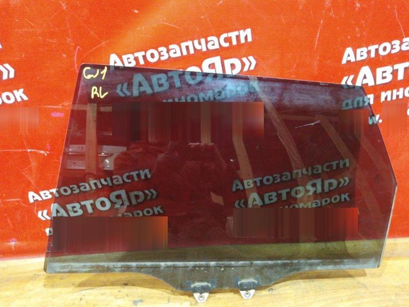 Стекло боковое Honda Airwave GJ1 L15A 2005 заднее левое заднее левое
