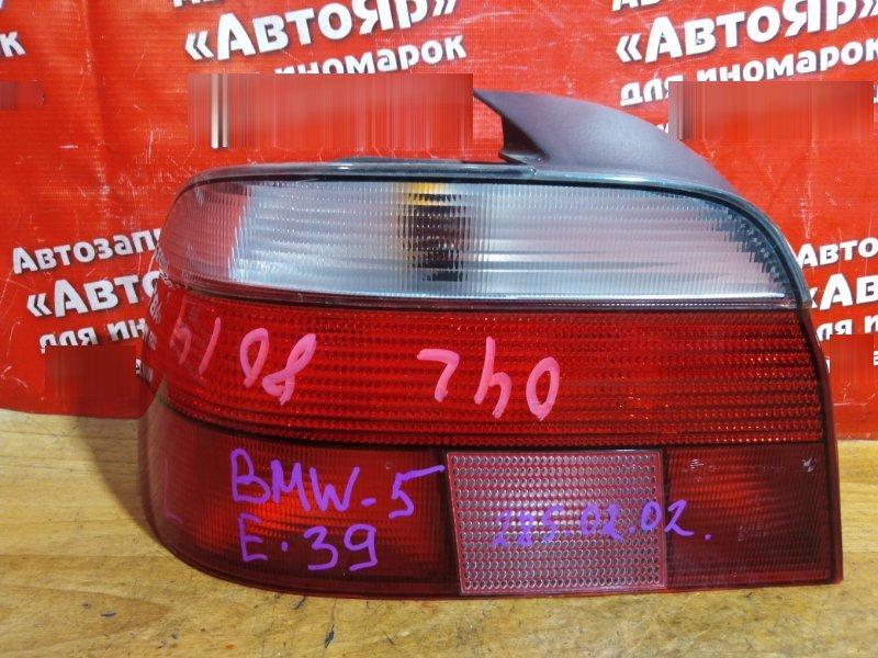 Стоп-сигнал Bmw 528I E39 задний левый № 285 02 02