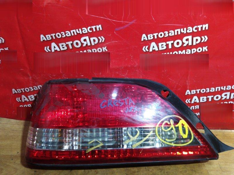 Стоп-сигнал Toyota Cresta GX100 задний левый 22-261 дефект креплений