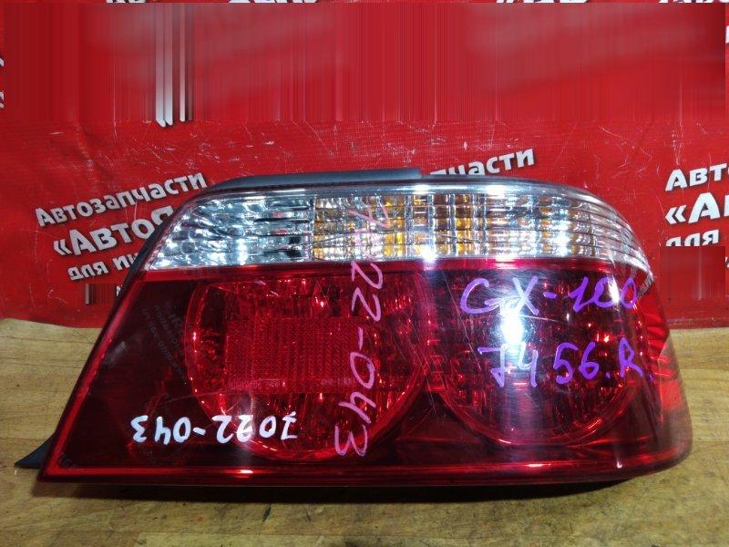 Стоп-сигнал Toyota Chaser GX100 задний правый № 7456, 22-286, трещина
