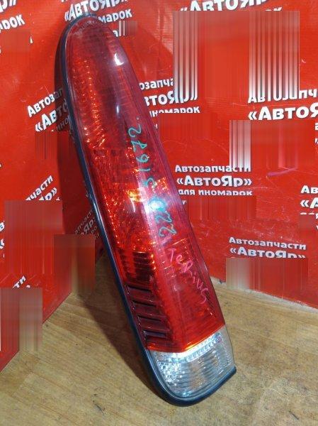 Стоп-сигнал Toyota Cami J102G K3-VE 2002 задний левый №220-51672