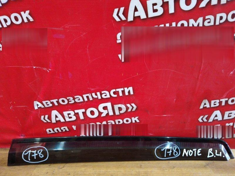 Ветровик Nissan Note E11 HR15DE задний левый задний левый