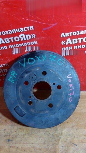 Тормозной барабан Toyota Voxy ZRR70G 3ZR-FE 2008 задний правый задний правый