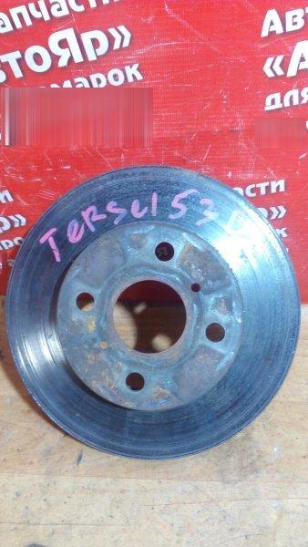 Диск тормозной Toyota Corsa EL53 5E-FE 1997 передний правый 238мм