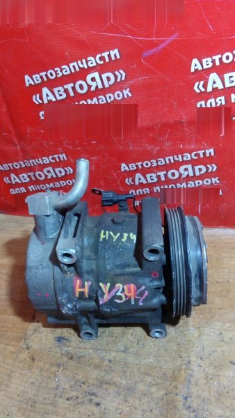Компрессор кондиционера Nissan Gloria HY34 VQ30DD 2001 92600 AG000 \ ZP15045010 \ 01003468