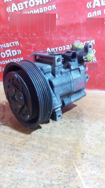 Компрессор кондиционера Nissan Ad VY11 QG15DE 92600-WE410, на 3 болта