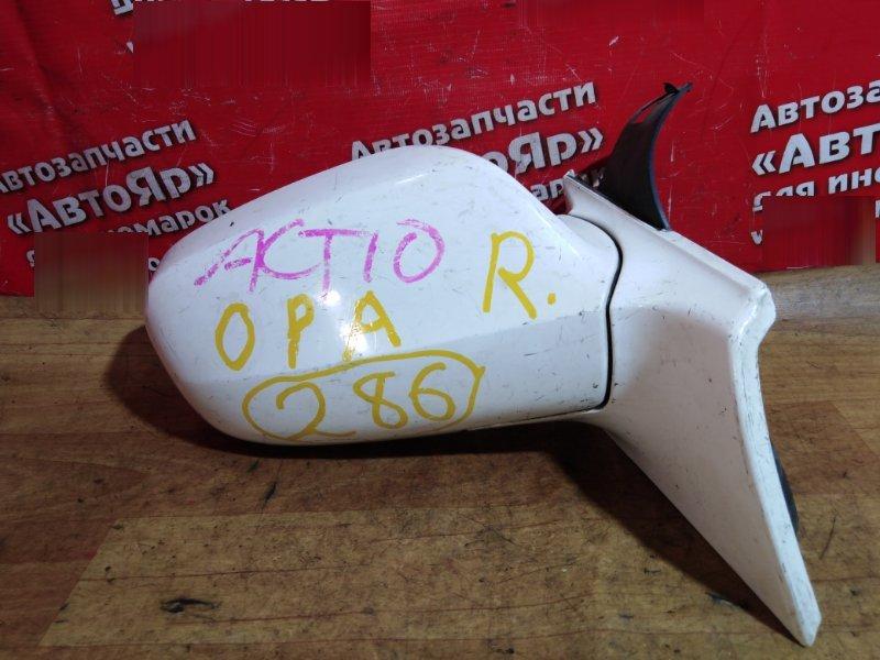 Зеркало Toyota Opa ACT10 1AZ-FSE 2001 переднее правое 5 проводов