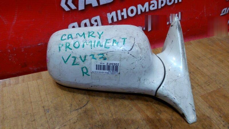 Зеркало Toyota Camry Prominent VZV33 4VZ-FE переднее правое 5 конт