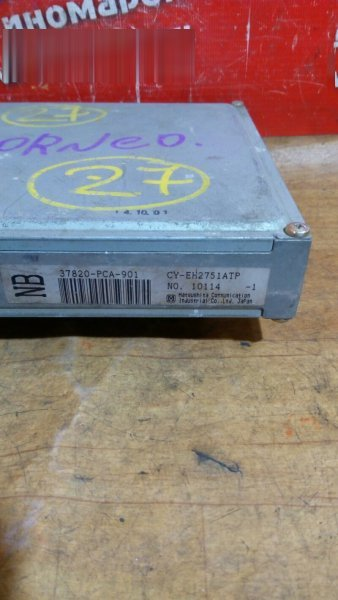Блок управления efi Honda Torneo CF3 F18B 1999 37820-PCA-901