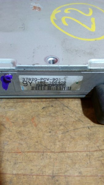 Блок управления efi Honda Civic EK3 D15B 2000 ВАРИАТОР . 37820-PCV-901