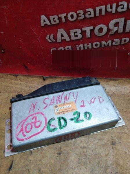 Блок управления abs Nissan Sunny B14 CD20 1999 2WD, 47850-40Y00