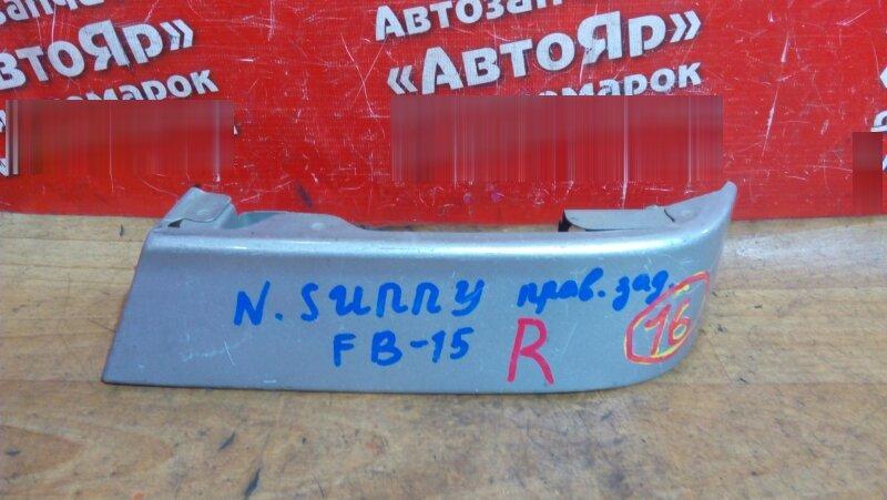 Планка под стоп Nissan Sunny FB15 1999 задняя правая