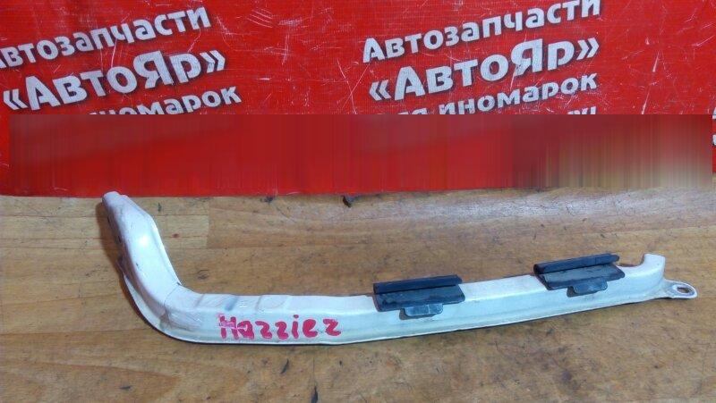 Планка под фары Toyota Harrier MCU15W 1MZ-FE передняя правая белая