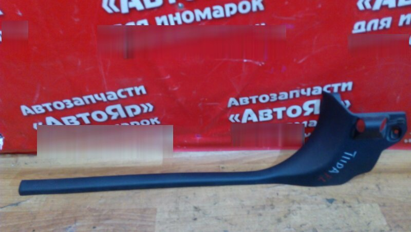 Накладка пластиковая в салон Nissan Tiida C11 HR15DE передняя левая на порог 769B4-ED000