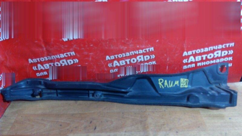 Накладка на крыло Toyota Raum NCZ20 1NZ-FE 2003 передняя левая 53828-46020