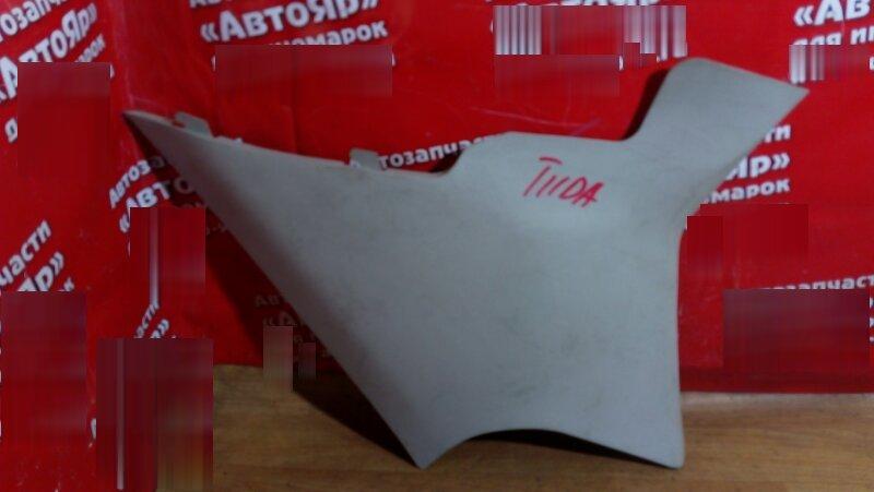 Накладка пластиковая в салон Nissan Tiida C11 HR15DE задняя правая на заднюю стойку