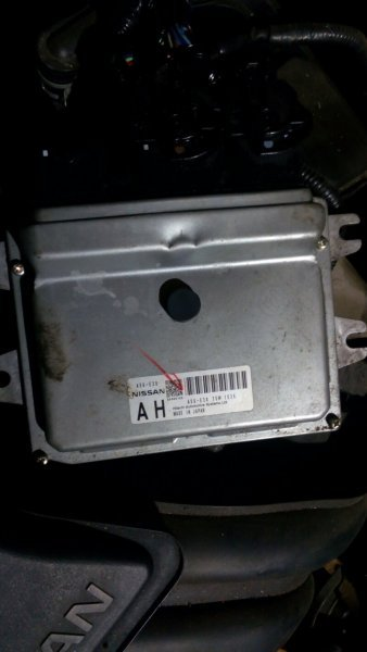 Блок управления efi Nissan March K13 HR12DE 2011 A56-E38 T5W1526