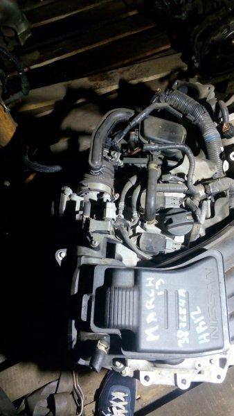 Заслонка дроссельная Nissan March K13 HR12DE 2011 SERA526-01