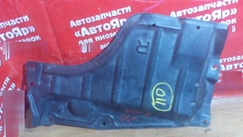 Защита двигателя Nissan Rnessa N30 SR20DE 1999 передняя правая