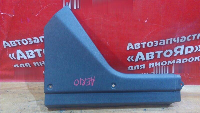 Накладка пластиковая в салон Suzuki Aerio RB21S левая 76282-55G0. торпедо