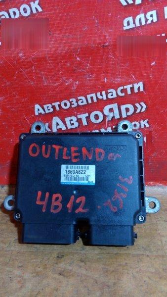 Блок управления efi Mitsubishi Outlander Xl CW5W 4B12 2006 1860A622
