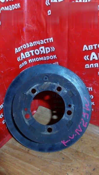 Диск тормозной Mitsubishi Rvr N23W 4G63 задний 5шп