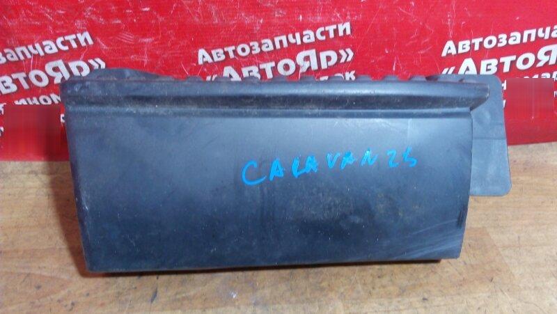 Накладка пластиковая в салон Nissan Caravan VWME25 ZD30DDTI 2004 передняя правая 96151-VW000 , подножка, на