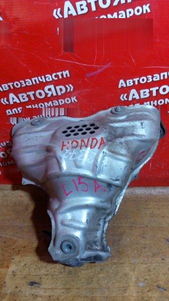 Коллектор выпускной Honda Airwave GJ1 L15A на 1 кислородник