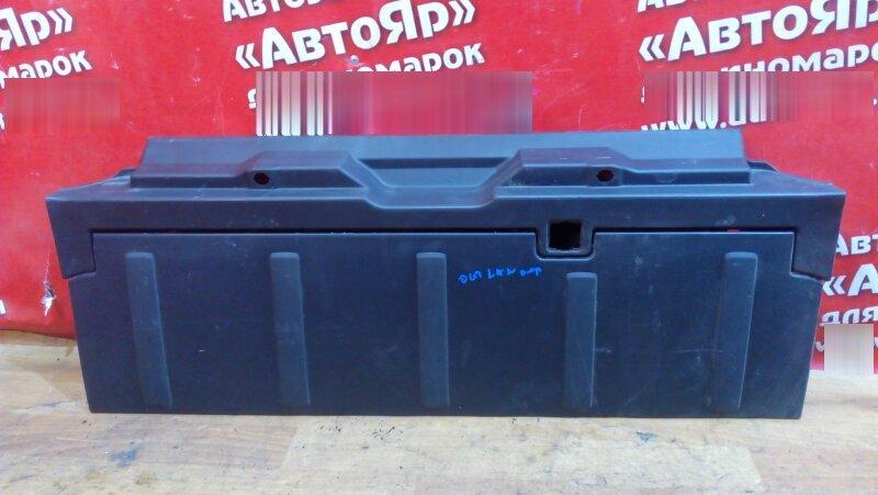 Накладка пластиковая в салон Mitsubishi Outlander Xl CW5W 4B12 2006 задняя 7240A024 , обшивка пола