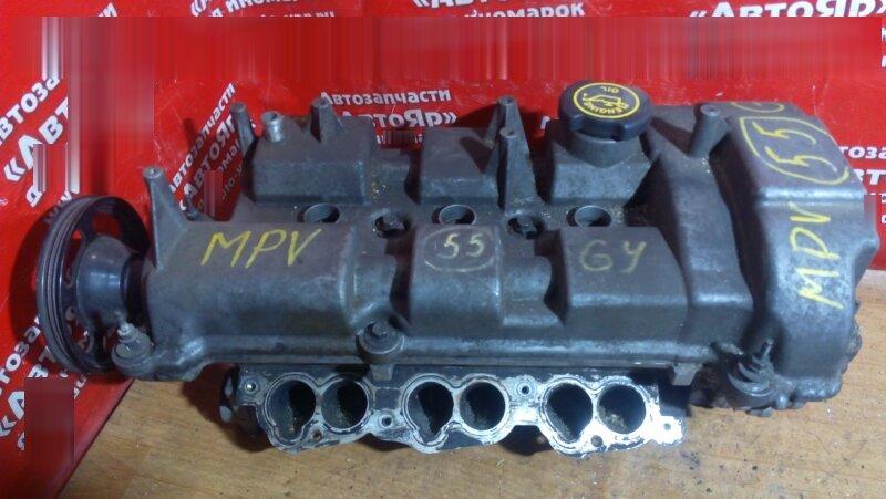 Головка блока цилиндров Mazda Mpv LW5W GY левая