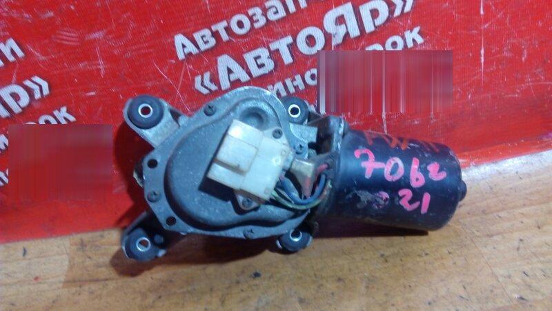 Механизм стеклоочистителя Nissan Avenir PW11 SR20DE передний моторчик без трапеции
