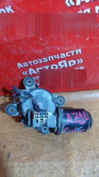 Механизм стеклоочистителя Nissan Cube AZ10 CGA3DE передний моторчик без трапеции
