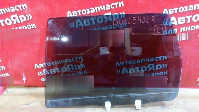 Стекло боковое Mitsubishi Outlander Xl CW5W 4B12 2006 заднее левое