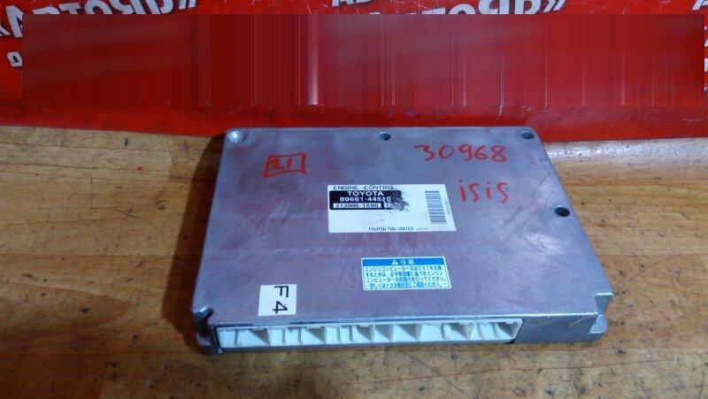 Блок управления efi Toyota Isis ANM15G 1AZ-FSE 2005 89661-44510