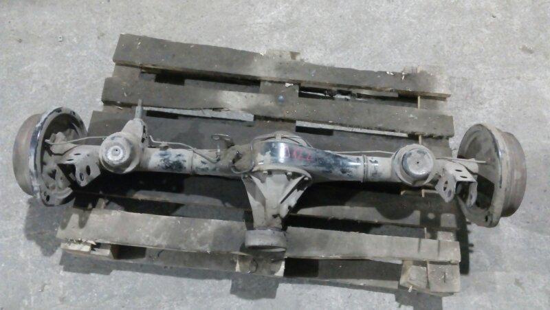 Мост Toyota Cami J122E K3-VE 1999 задний 2wd в сборе, правая полуось гнутая